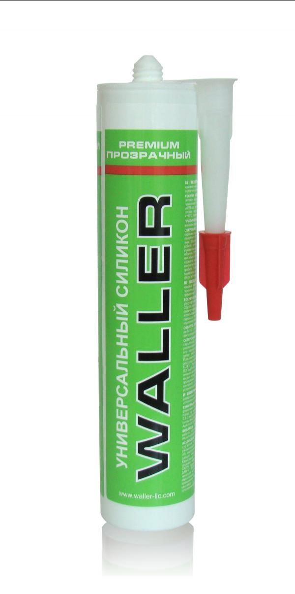 WALLER Universal Silicone Premium White/Transparent 280ml